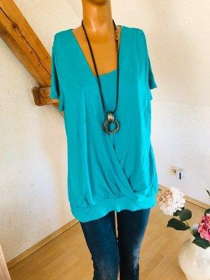 M&S Camicia a tunica azzurro