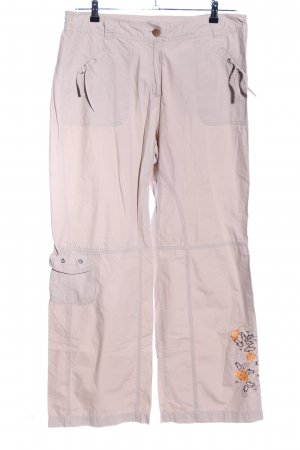 M&S Stoffhose creme Casual-Look