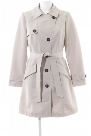 M&S Trenchcoat wollweiß Casual-Look