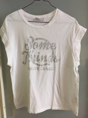 Colins T-Shirt white-silver-colored