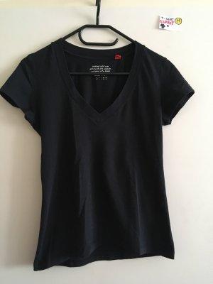 M T Shirt Esprit schwarz