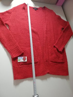 Amisu Long Knitted Vest multicolored