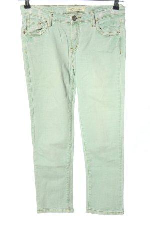 M2F Pantalon cinq poches vert style décontracté