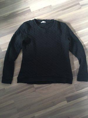 Maas Sweat Shirt black cotton