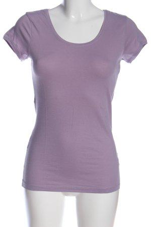 Maas T-Shirt lila Casual-Look