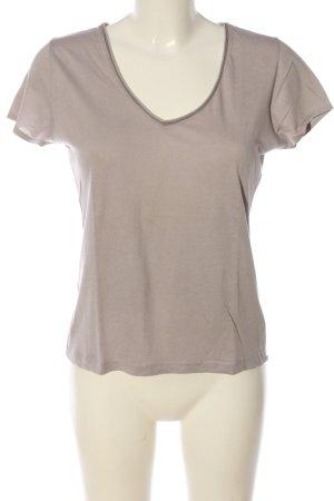 Maas T-Shirt nude meliert Casual-Look