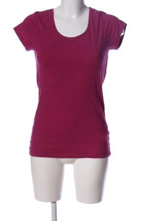 Maas T-Shirt pink Casual-Look