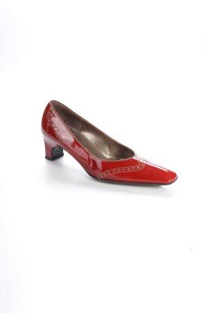 Loafer rosso scuro