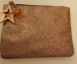 Mac Borsa clutch nero-color oro rosa