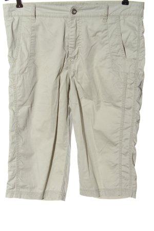 Mac Spodnie 3/4 kremowy W stylu casual