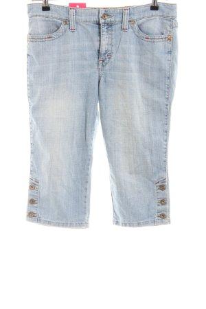 Mac 3/4 Jeans blau Casual-Look