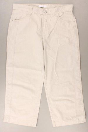 MAC 7/8 Hose Größe 38 creme aus Baumwolle