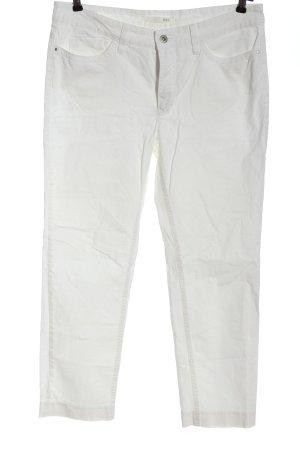 Mac Jeansy 7/8 biały W stylu casual