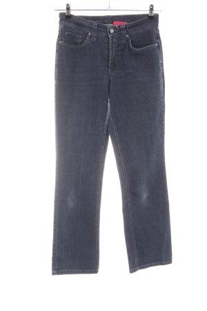 Mac 7/8 Jeans hellgrau Casual-Look