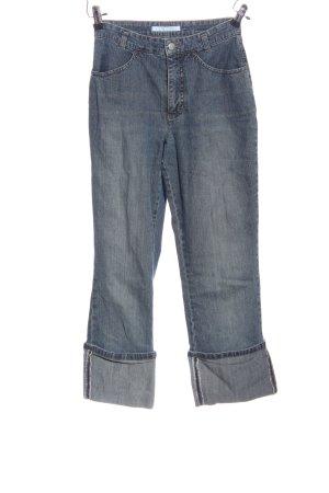 Mac 7/8-jeans blauw casual uitstraling
