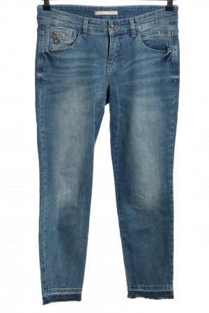 Mac 7/8 Jeans blau Casual-Look
