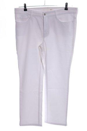 Mac Jeans 7/8 blanc style décontracté