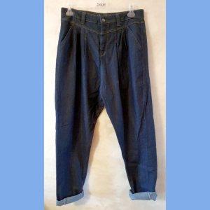 Mac Jeans larghi blu scuro