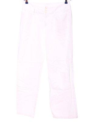 Mac Pantalon «Baggy» blanc style décontracté