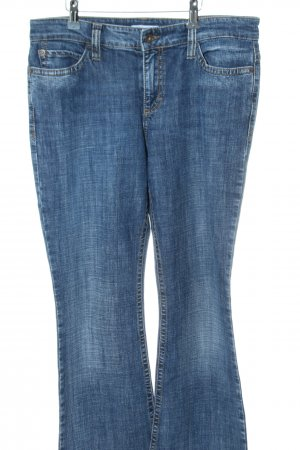 Mac Boot Cut Jeans blau Casual-Look