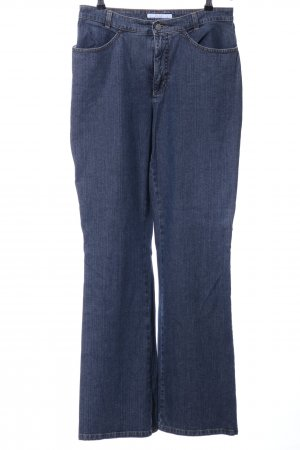 Mac Boot Cut Jeans blau Casual-Look