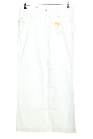 Mac Vaquero de corte bota blanco look casual
