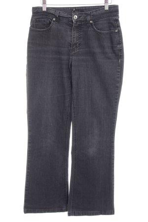 "Mac Boot Cut Jeans ""Melanie"" schwarz"