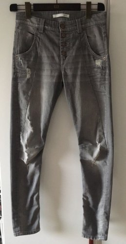 MAC Boyfriend Jeans Laxy relaxed fit Gr. XS/S (34/36) Denim Stretch destroyed used Look