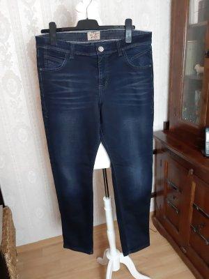 MAC Jeans Boyfriend Jeans dark blue cotton