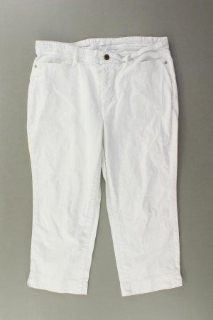 Mac Spodnie Capri w kolorze białej wełny