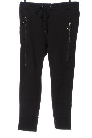 Mac Pantalon cargo noir style décontracté