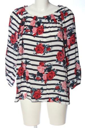 Mac Carmen Blouse flower pattern casual look