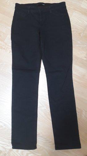MAC Jeans Pantalon strech noir coton