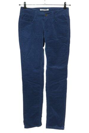 Mac Cordhose blau Casual-Look
