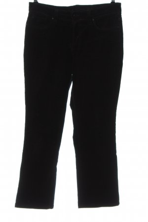 Mac Corduroy Trousers black casual look