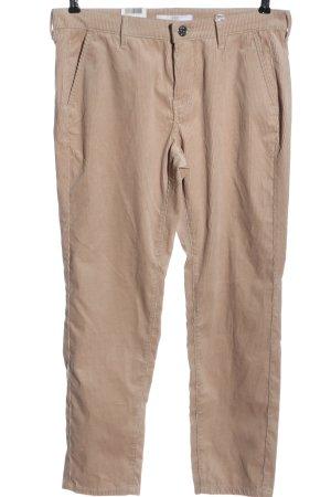 Mac Corduroy broek nude casual uitstraling