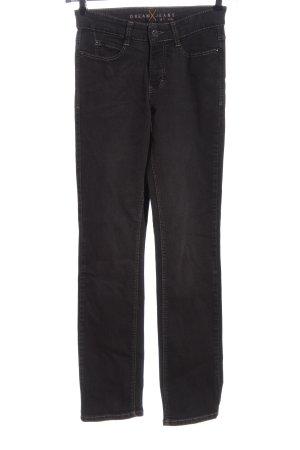 MAC Dream Jeans Straight-Leg Jeans schwarz Casual-Look