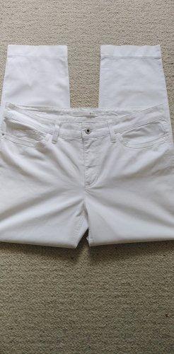 MAC * Edle 7/8 Jeans Angela Pipe Casual * weiß Glitzernieten * 44/L28