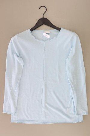 Mac Pull en maille fine bleu-bleu fluo-bleu foncé-bleu azur coton