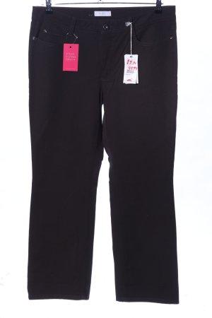 Mac Pantalon cinq poches noir style décontracté
