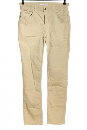 Mac Five-Pocket-Hose wollweiß Casual-Look