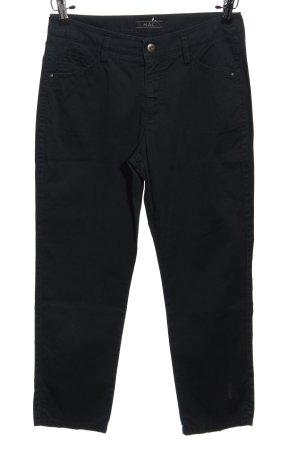 Mac Spodnie z pięcioma kieszeniami czarny W stylu casual