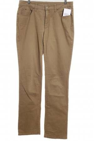 Mac Five-Pocket Trousers bronze-colored simple style