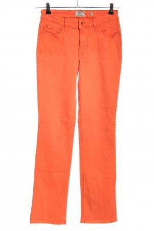Mac Five-Pocket Trousers red casual look
