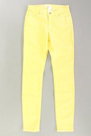MAC Five-Pocket-Hose Größe 36 gelb aus Baumwolle