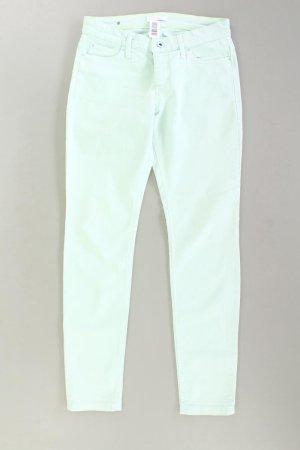 MAC Five-Pocket-Hose Größe 38/L30 türkis aus Baumwolle