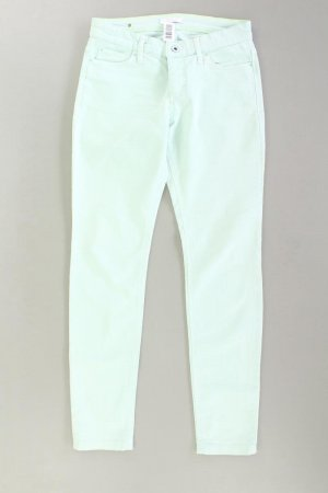 Mac Pantalon cinq poches turquoise coton