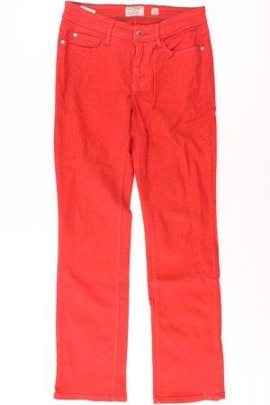 MAC Five-Pocket-Hose Größe 38 rot aus Baumwolle