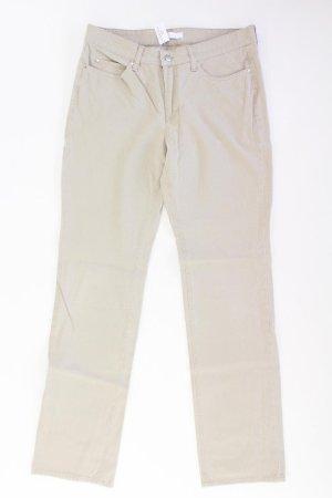 MAC Five-Pocket-Hose Größe 40 creme aus Baumwolle