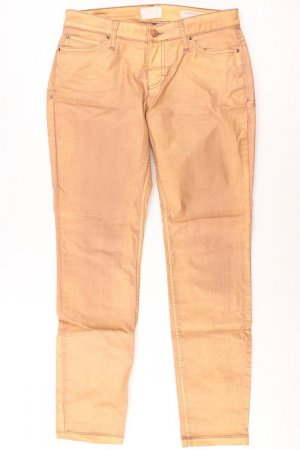 Mac Five-Pocket Trousers gold-colored cotton